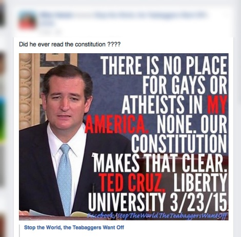 false quote of ted cruz