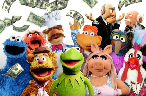 the muppet money show