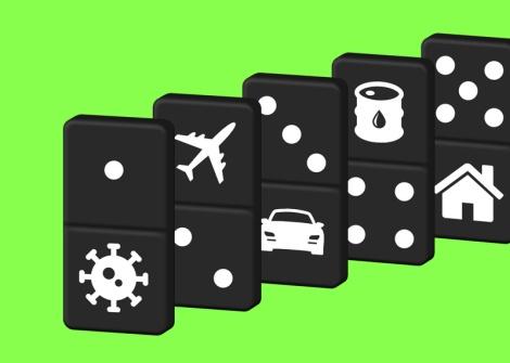 COVID19 domino effect