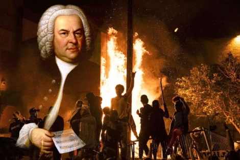bach aflame