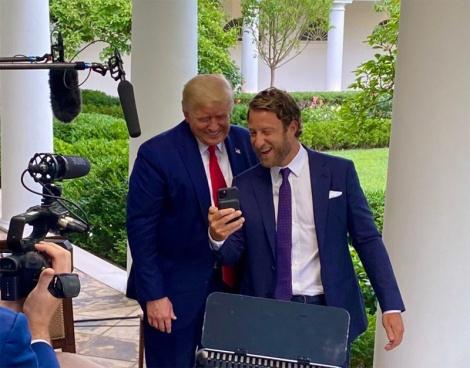 David Portnoy at the White House